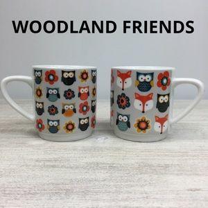 WOODLAND FRIENDS by Creative Tops, coffee mug set